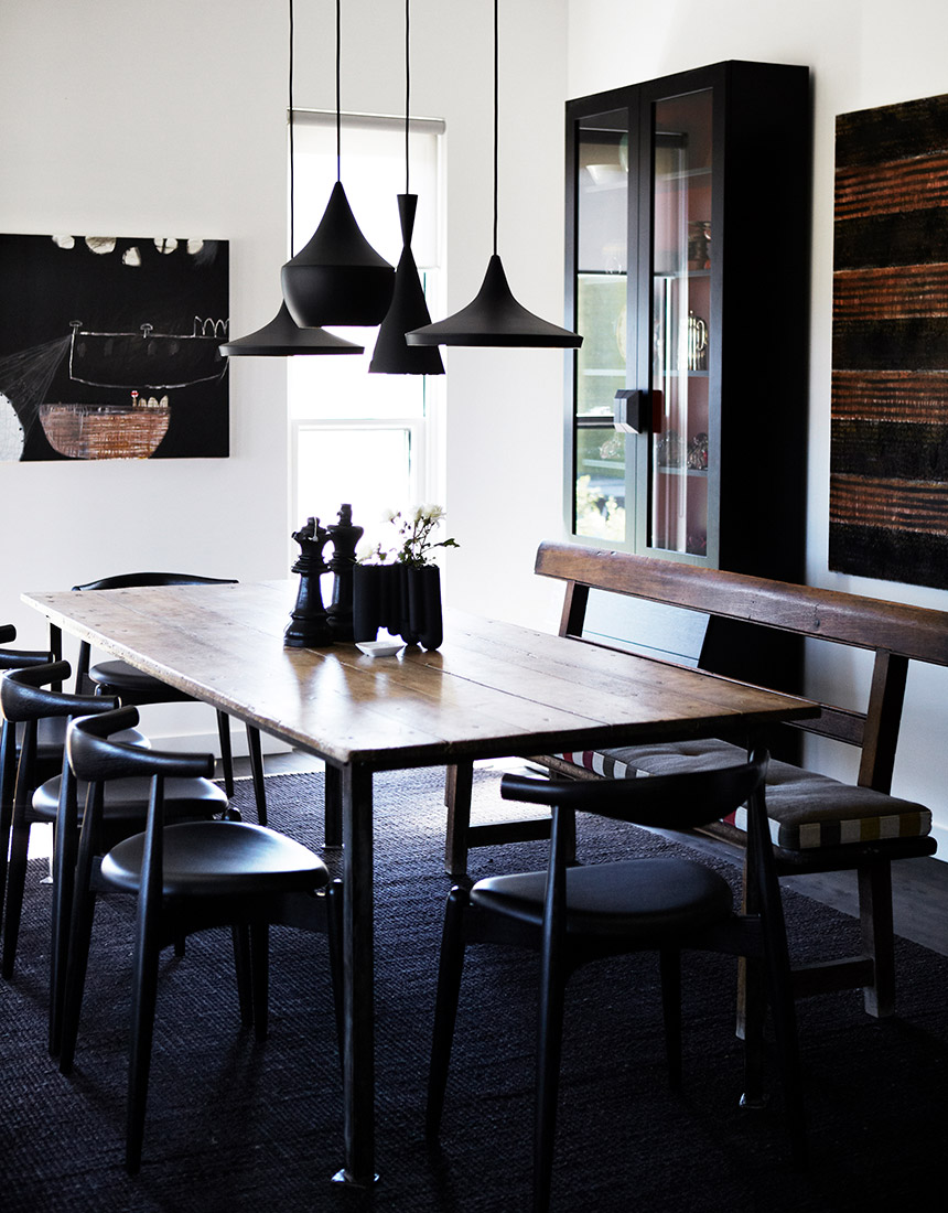 Northern Tablelands - Contemporary casual dining room design by Hare + Klein