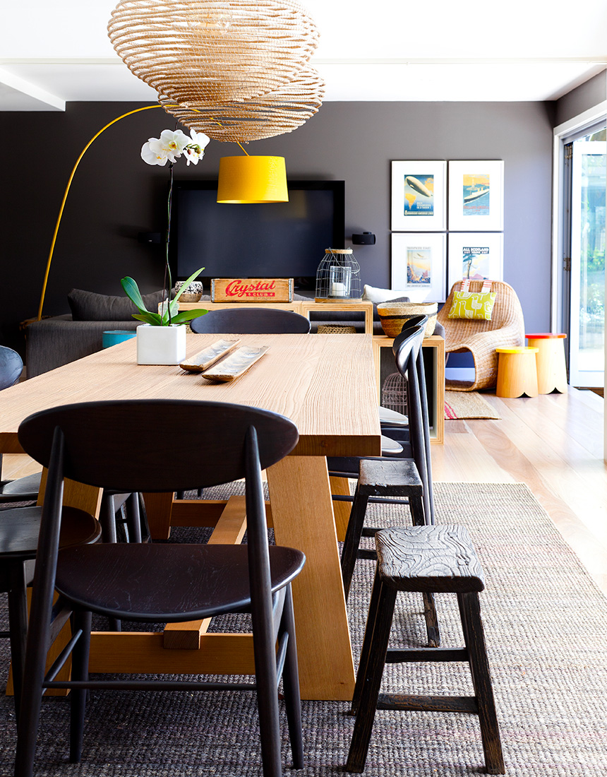 Contemporary casual kitchen design by Hare + Klein