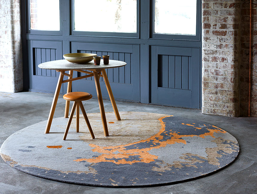 Aceto Hand-Knotted Rug by Hare + Klein