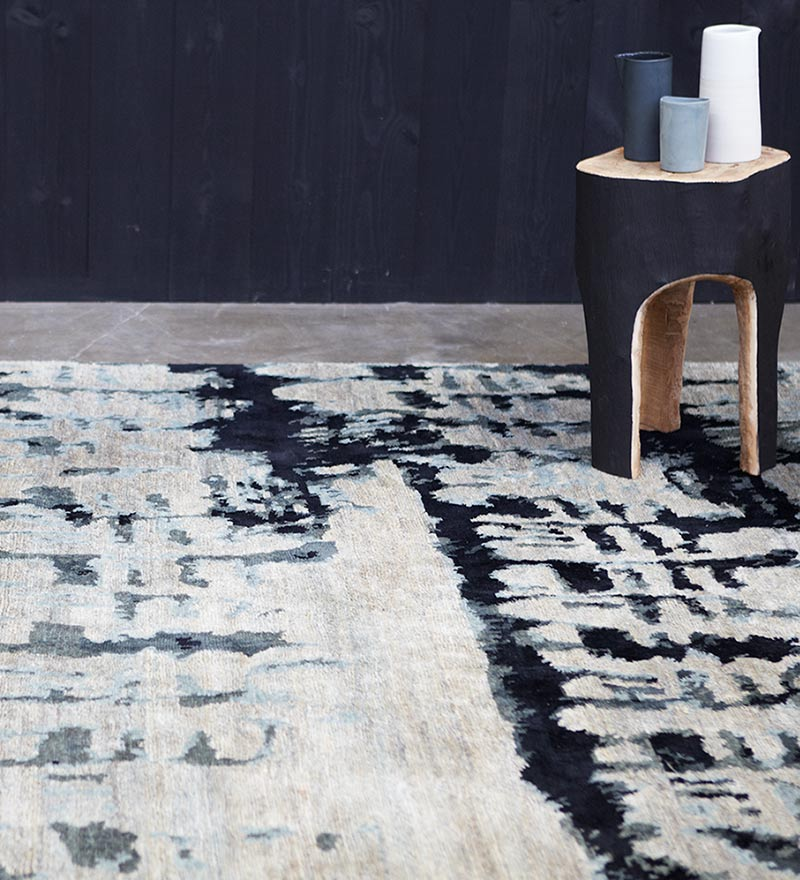 Etched Hand-Knotted Rug by Hare + Klein for Designer Rugs