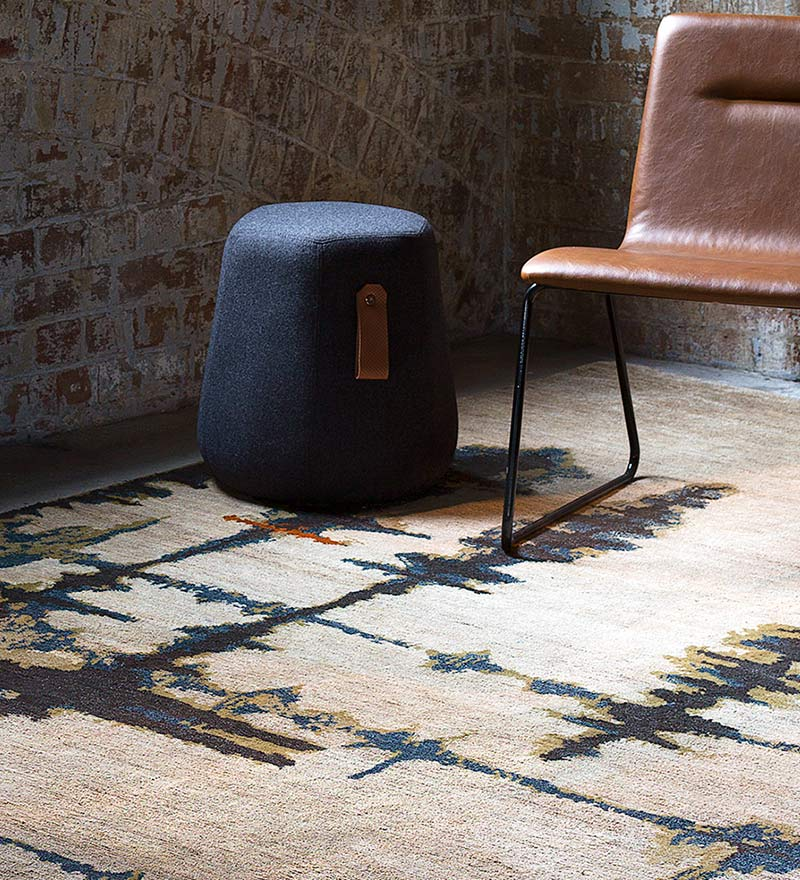Inlets - Hand-knotted rug designed by Hare + Klein for Designer Rugs