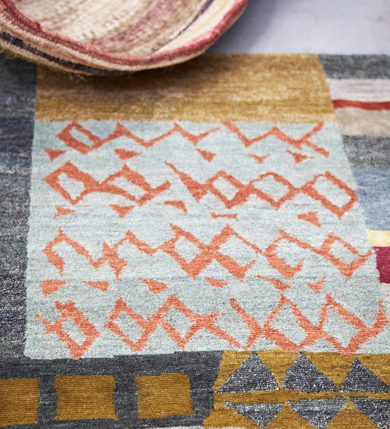 Memory - Hand-knotted rug designed by Hare + Klein for Designer Rugs