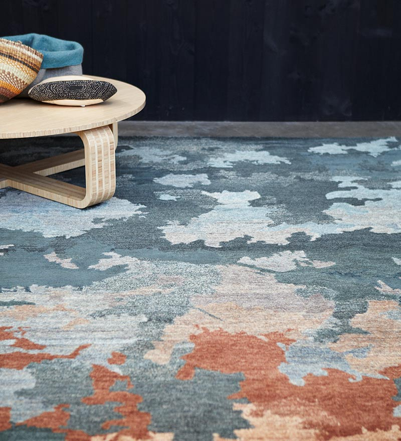 Shadows - Hand-knotted rug designed by Hare + Klein for Designer Rugs