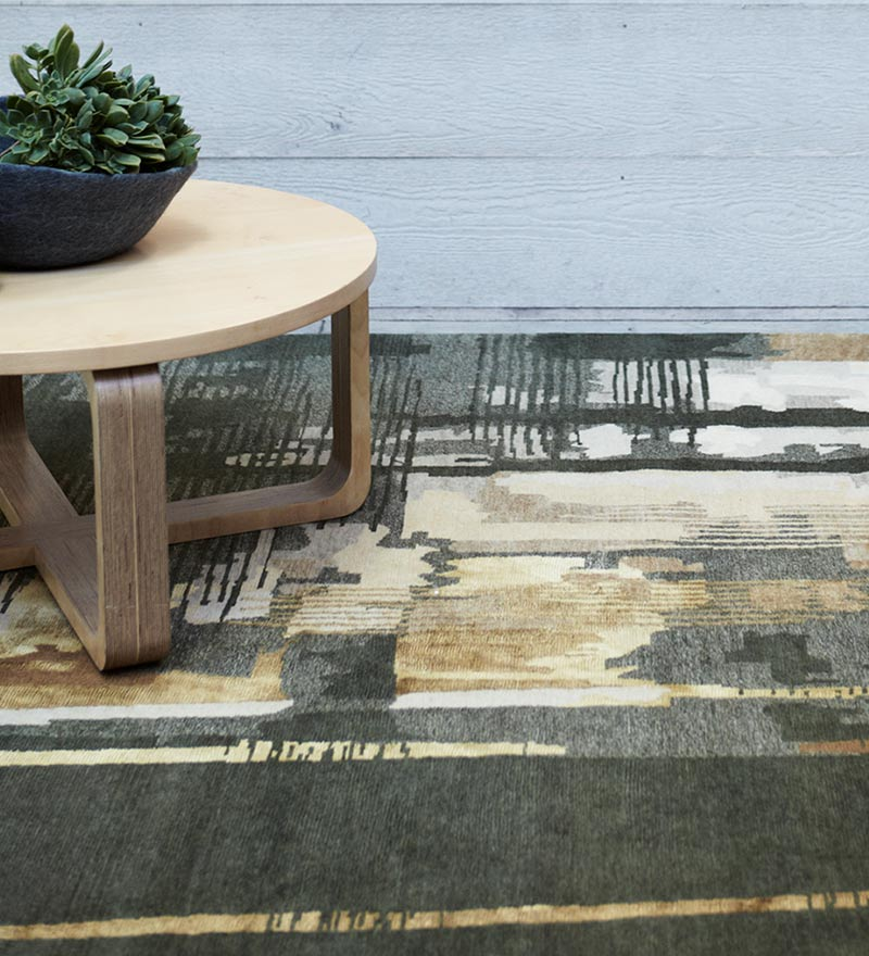 Unearthed Hand-Knotted Rug by Hare + Klein