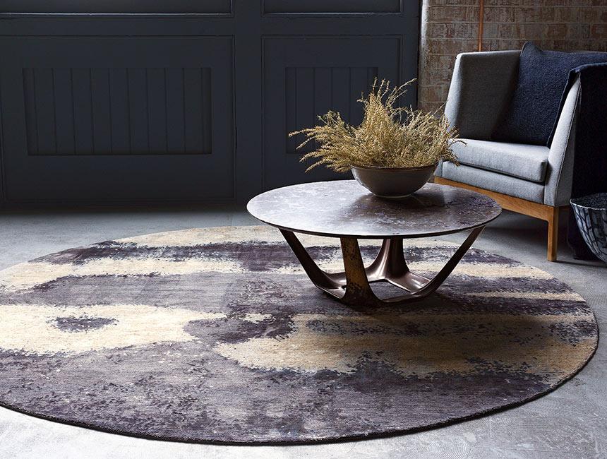 Landscape - Hand-knotted rug designed by Hare + Klein for Designer Rugs