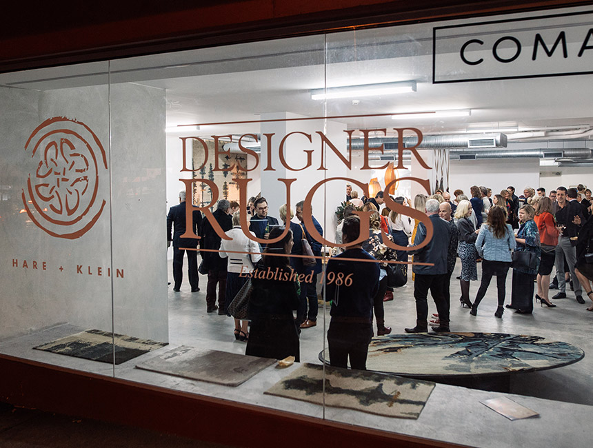 Hare + Klein Designer Rugs Launch