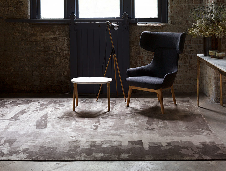 Refraction - Hand-knotted rug designed by Hare + Klein for Designer Rugs