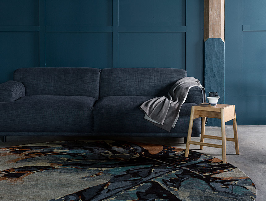 Wings - Hand-knotted rug designed by Hare + Klein for Designer Rugs