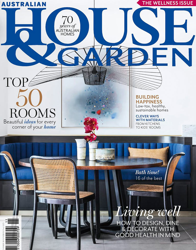 House and Garden Nov 2018: Top 50 Rooms. Hare + Klein