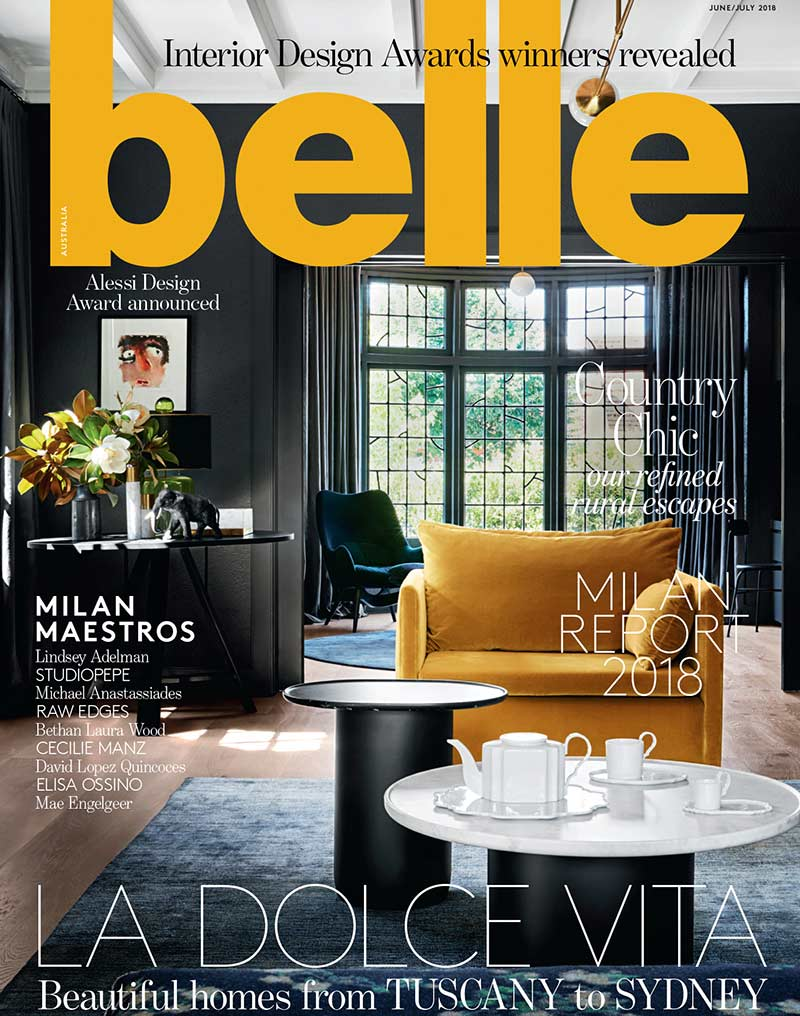 Belle June July 2018 Cover
