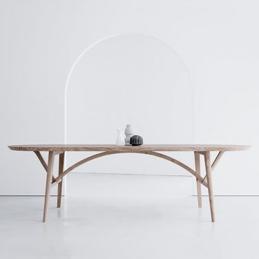 HK Edit x The Wood Room: Bridge Dining Table